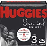 Huggies Special Delivery Hypoallergenic Baby Diapers, Size 3, 25 Ct