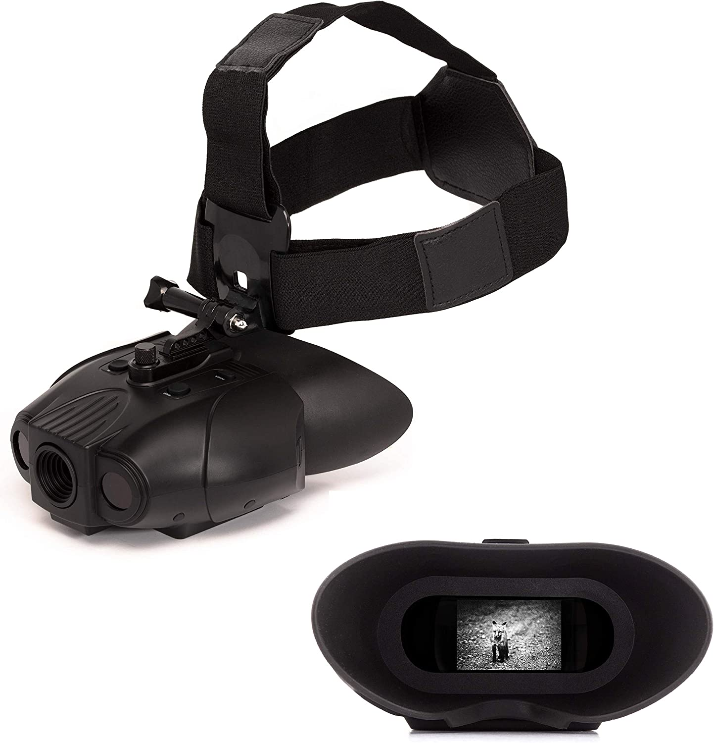 Nightfox 119V Night Vision Goggles Digital Infrared 75yd Range Rechargeable