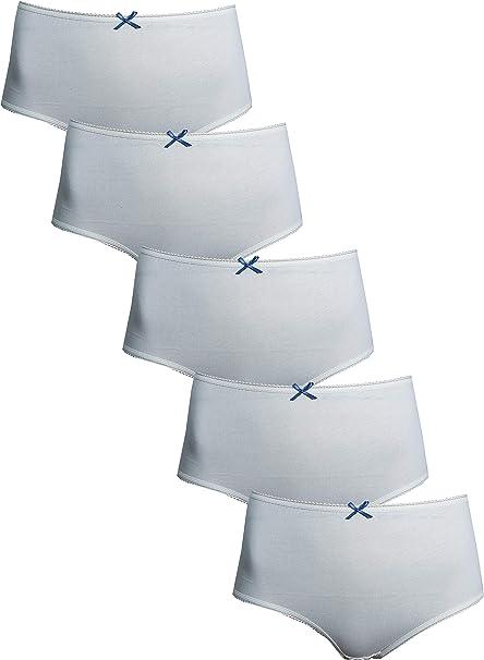 Multipack 5 Pairs Ex M/&S Knickers Briefs Bikinis Nude No Pattern  No VPL UK  10