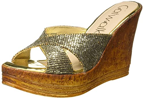 8f8a3c1dd27 Catwalk Silver Leather Slip-on Wedges for Women s  Buy Online at Low ...