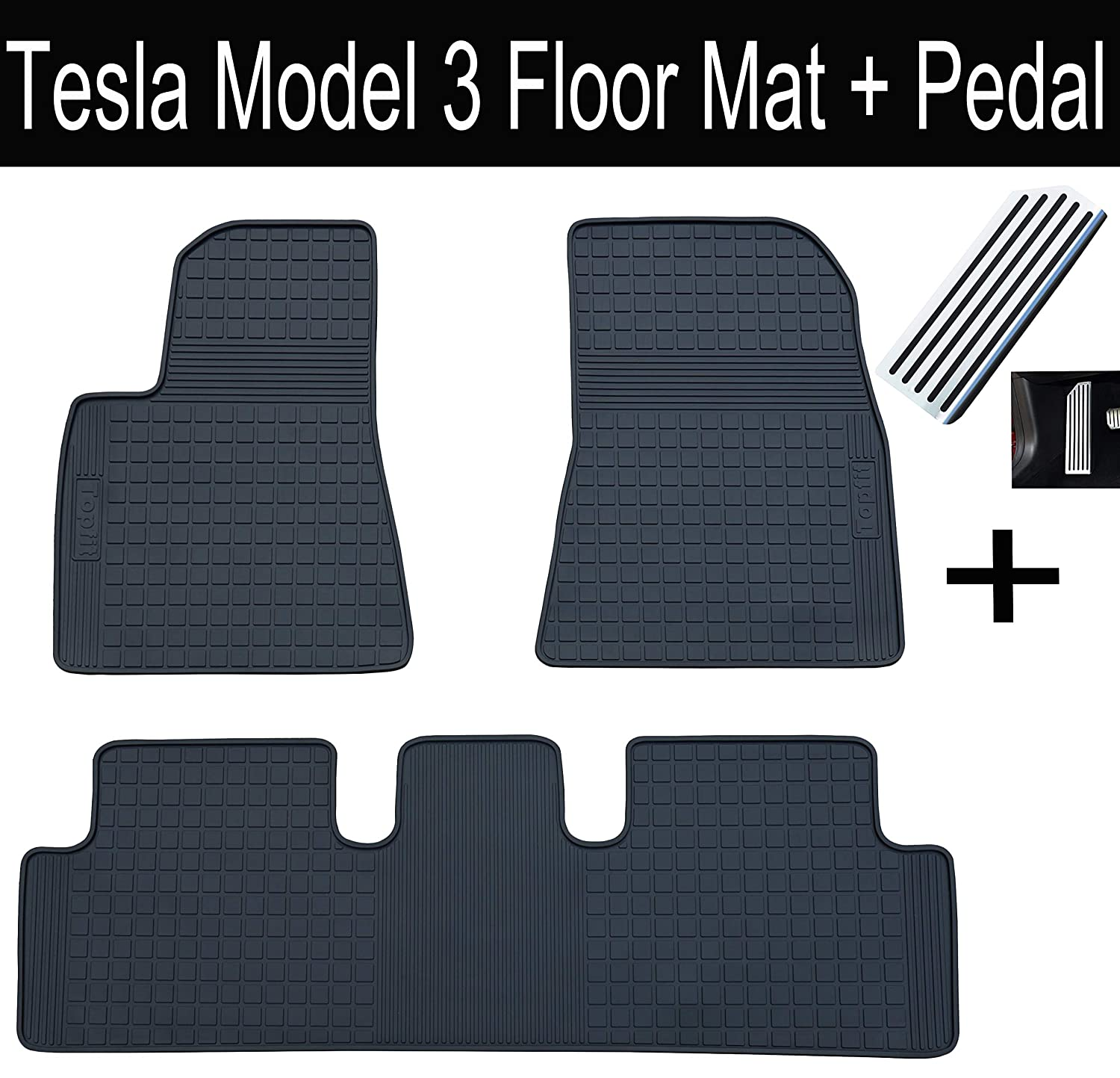 Boot Liner Mat Tray with  Velour Insert