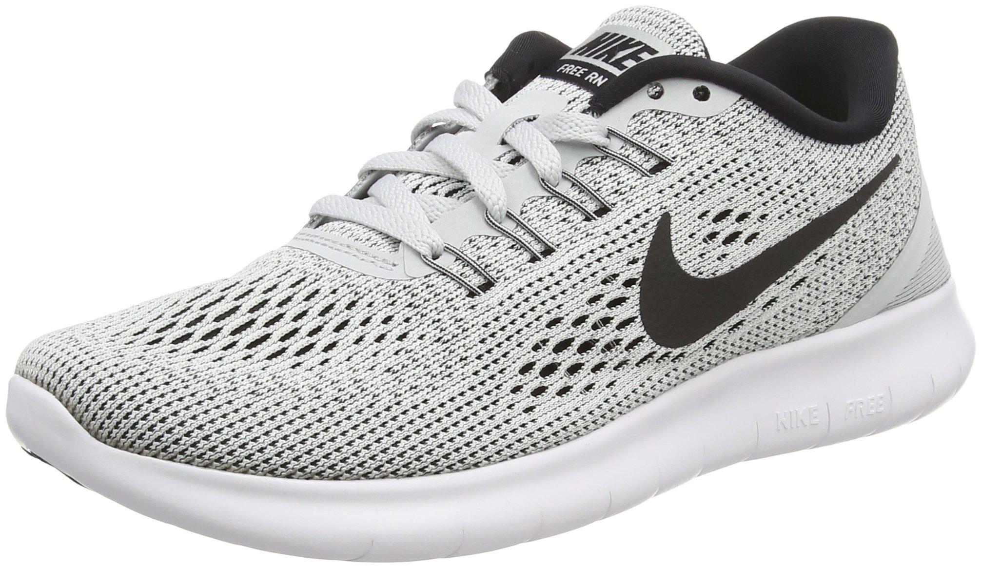Nike Women's Free RN Running Shoes White/Pure Platinum/Black 5 B(M) US