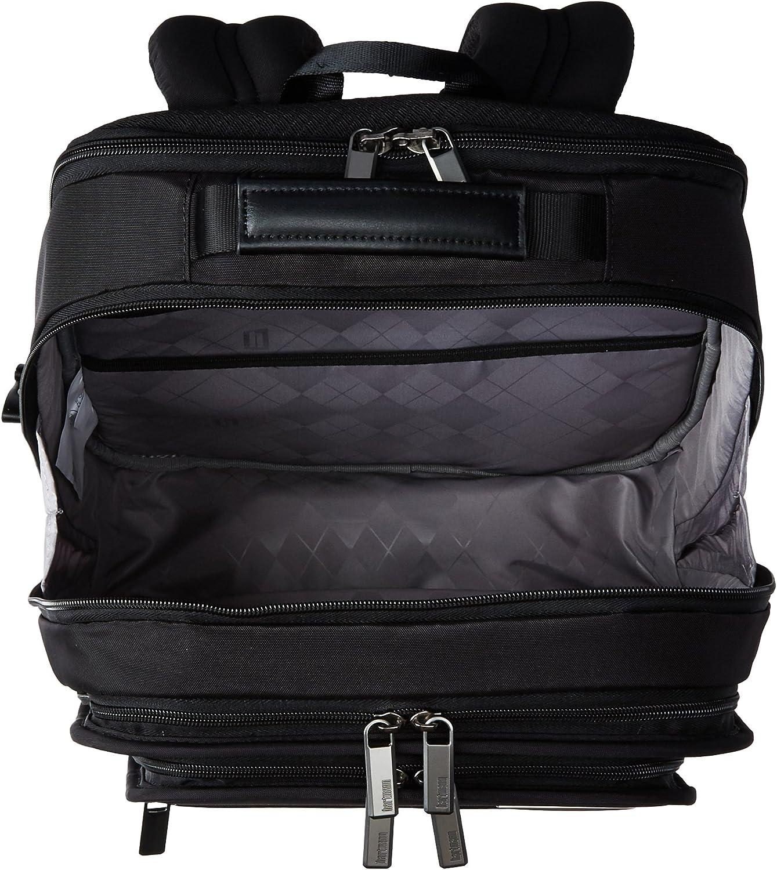 Deep Black Hartmann Slim Backpack One Size