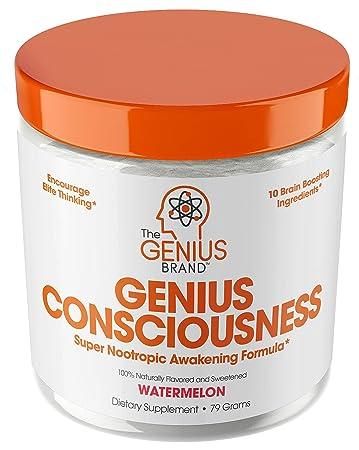 Genius Consciousness - Super Nootropic Brain Booster Supplement - Enhance  Focus, Boost