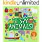 I Spy Animals!: Activity Book for Kids ages 2-5, A Fun Guessing Game for Preschoolers