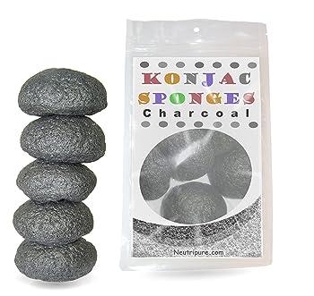 Konjac Organic Skincare Facial Sponge Set