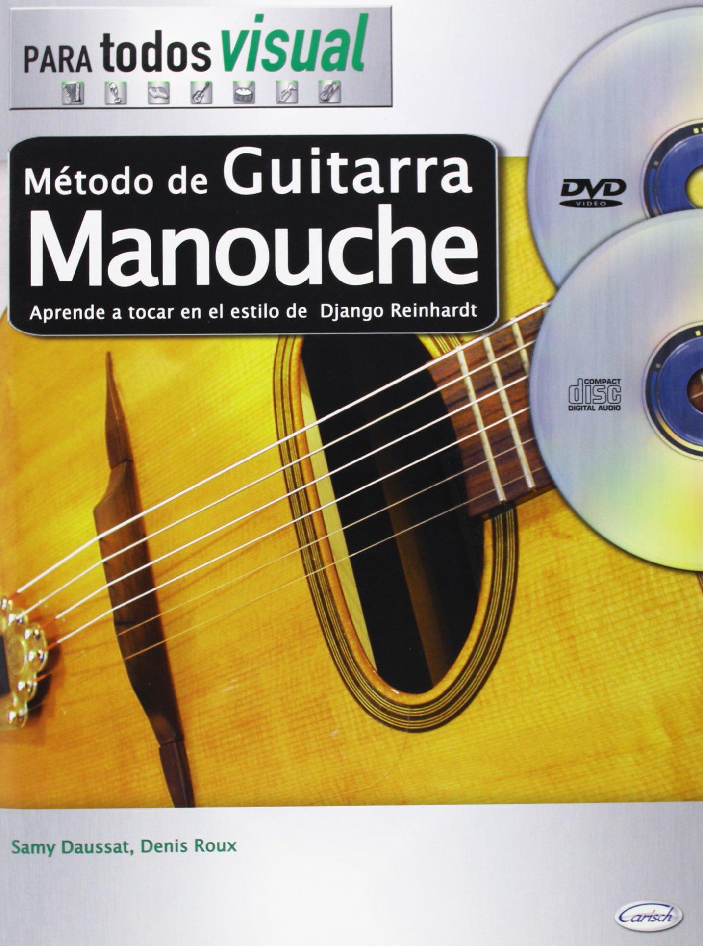Método de Guitarra Manouche (Para Todos): Amazon.es: Roux, Denis ...