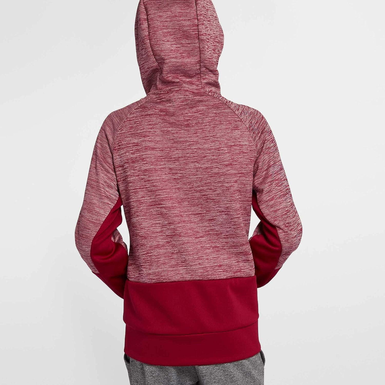 Nike Boys Therma Heathered Graphic Hoodie