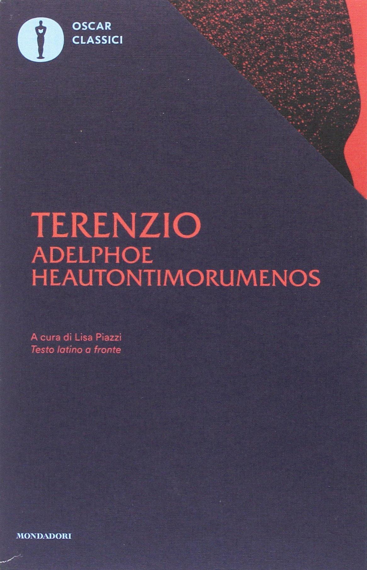 Adelphoe-Heautontimorumenos. Testo latino a fronte