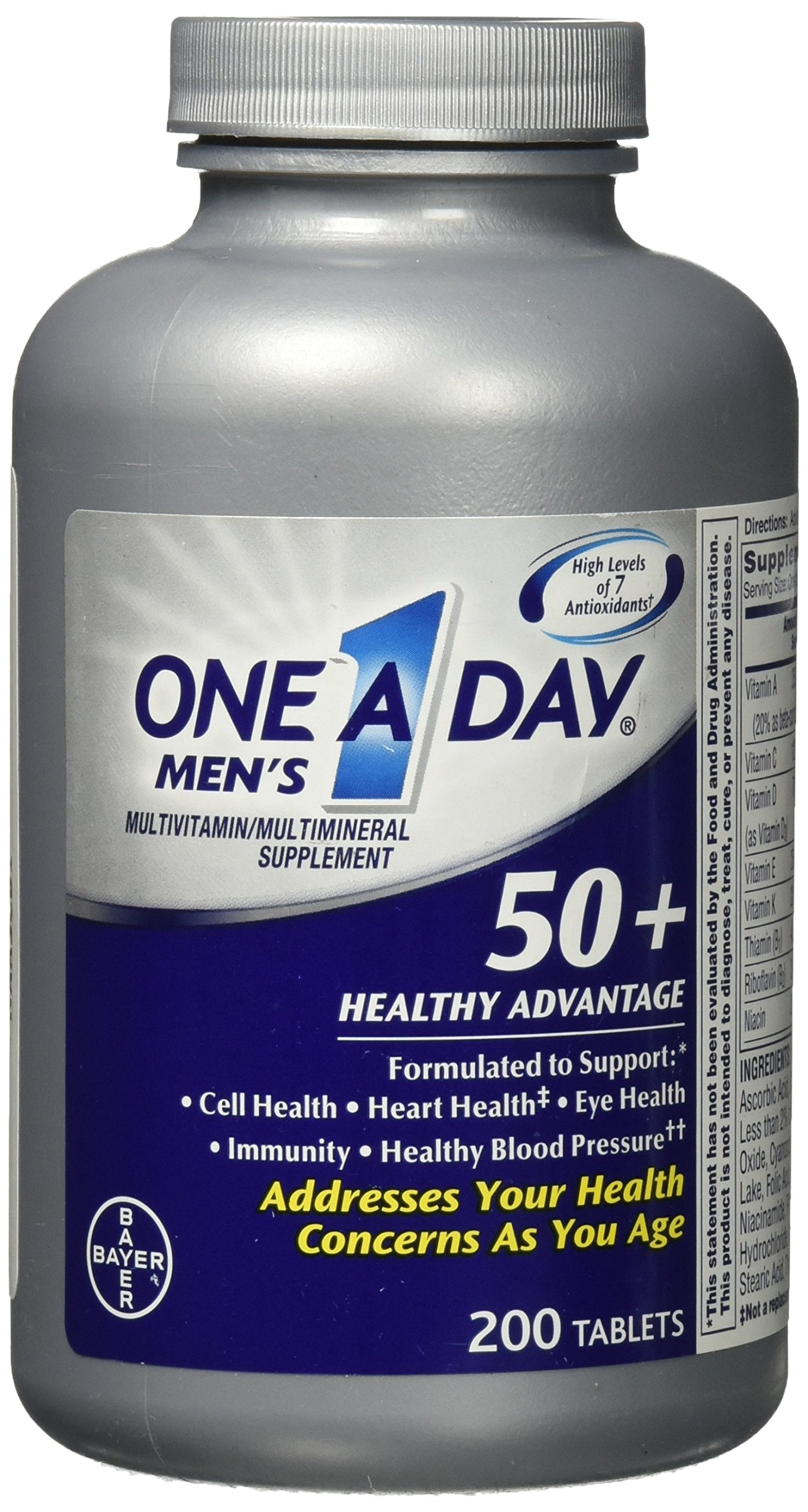 One-A-Day Mens 50 Healthy Advantage Reviews
