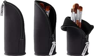 Miso EmMiso Em - Estuche de neopreno para brochas de maquillaje y estuche para lápices, Negro, 400.00[set de ]: Amazon.es: Belleza