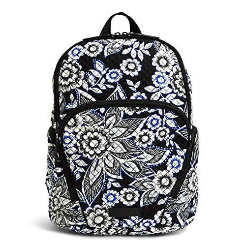 3044ec1a1 Vera Bradley Women's Hadley Backpack, Snow Lotus: Amazon.ca: Luggage ...