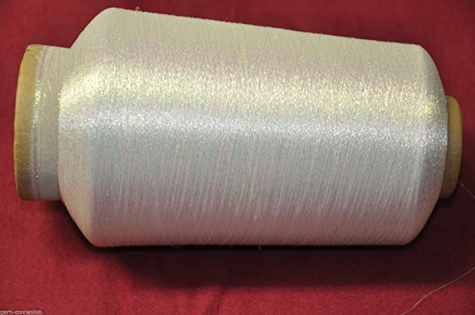 PhiloTeXX 1 Spule 500 g Metallgarn GP 46,00 EUR/kg irise basteln Weben 83.000 m/kg Lame Beilaufgarn 62% Polyester/38% Polyami