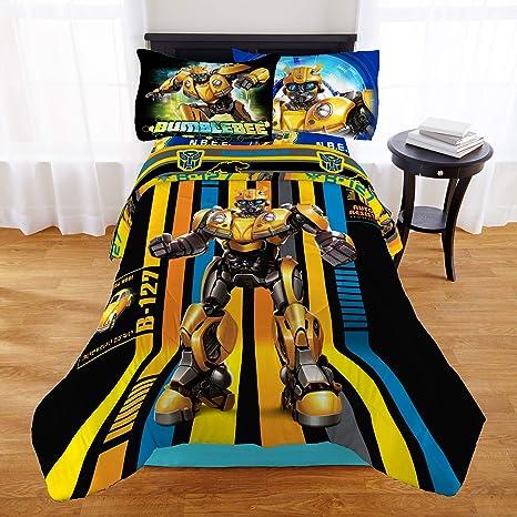 Amazon.com: Transformers Bumblebee - Juego de edredón y ...