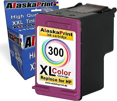 1x Remanufacturado Cartucho de Tinta HP 300 XL Color para HP PhotoSmart C4680 C4683 C4780 C4600 4700 HP DeskJet D1660 D2560 D2660 D5560 F2480 F4224 F4280 F4580 HP Envy 100 110 120 114 (1+Tricolor): Amazon.es: Electrónica