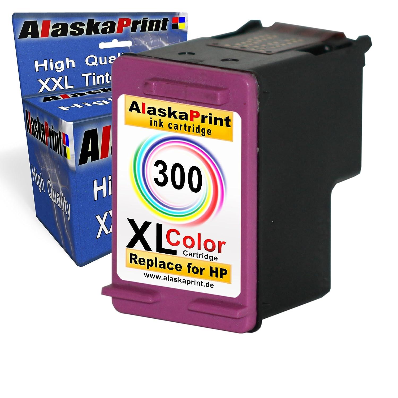 1x Remanufacturado Cartucho de Tinta HP 300 XL Color para HP PhotoSmart C4680 C4683 C4780 C4600 4700 HP DeskJet D1660 D2560 D2660 D5560 F2480 F4224 ...