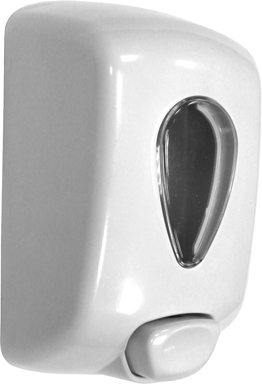 Nofer 03036.W Dosificador Jabón 1L, Colección Classic, ABS Blanco ...