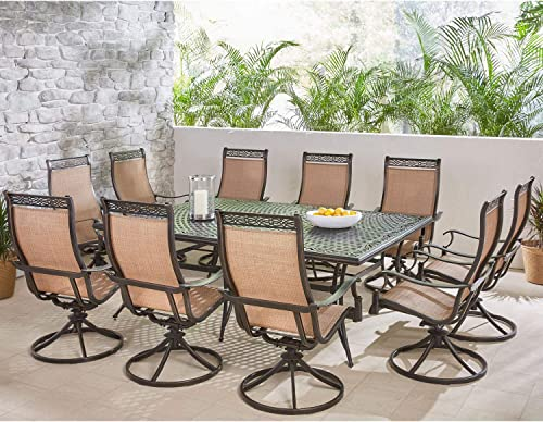 Hanover MANDN11PCSW10 Manor 11-Piece Dining Set