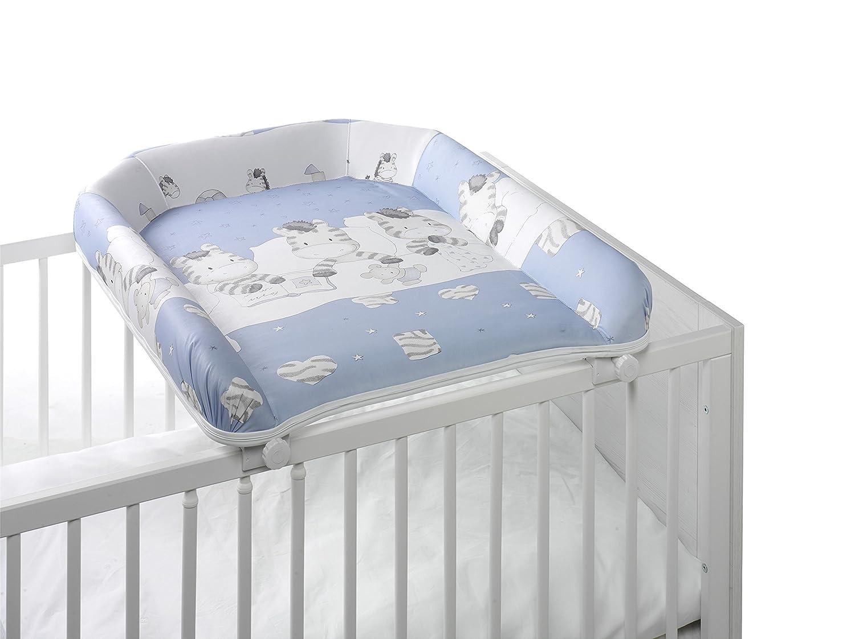 Geuther - Wickelplatte 4814 für jede Kinderbettbreite, zum auflegen, Zebra