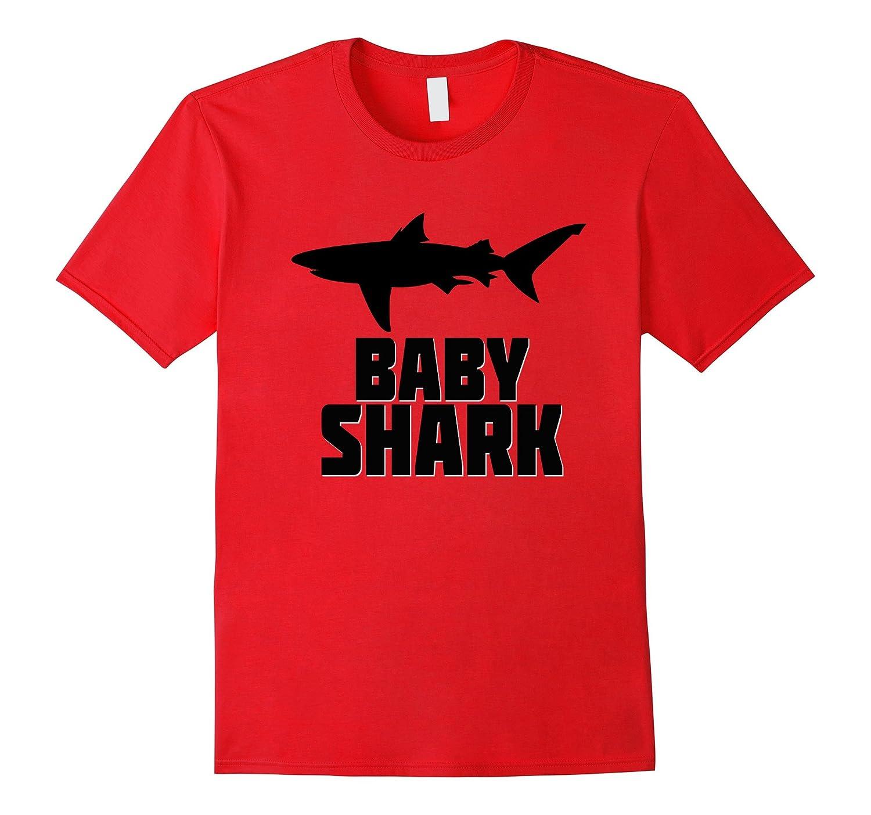 Baby Shark Shirt Matching Family Tribe Kids Son Daughter-CD