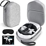 Oculus Quest 2 Case SARLAR Hard Carrying Case for Oculus Quest 2/Elite Version VR Gaming Headset and Touch Controllers Access