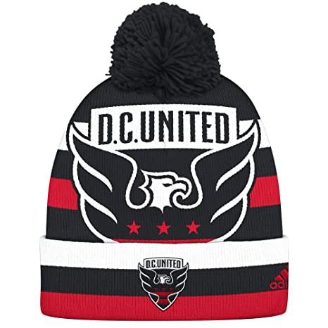 109a677d349 Amazon.com   NBA Brooklyn Nets Men s Standout Cuffed Knit Hat with ...