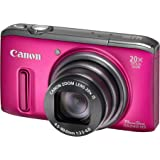 Canon PowerShot SX 240 HS Digitalkamera (12,1 Megapixel, 20-fach opt. Zoom, 7,6 cm (3 Zoll) Display, bildstabilisiert) schwarz