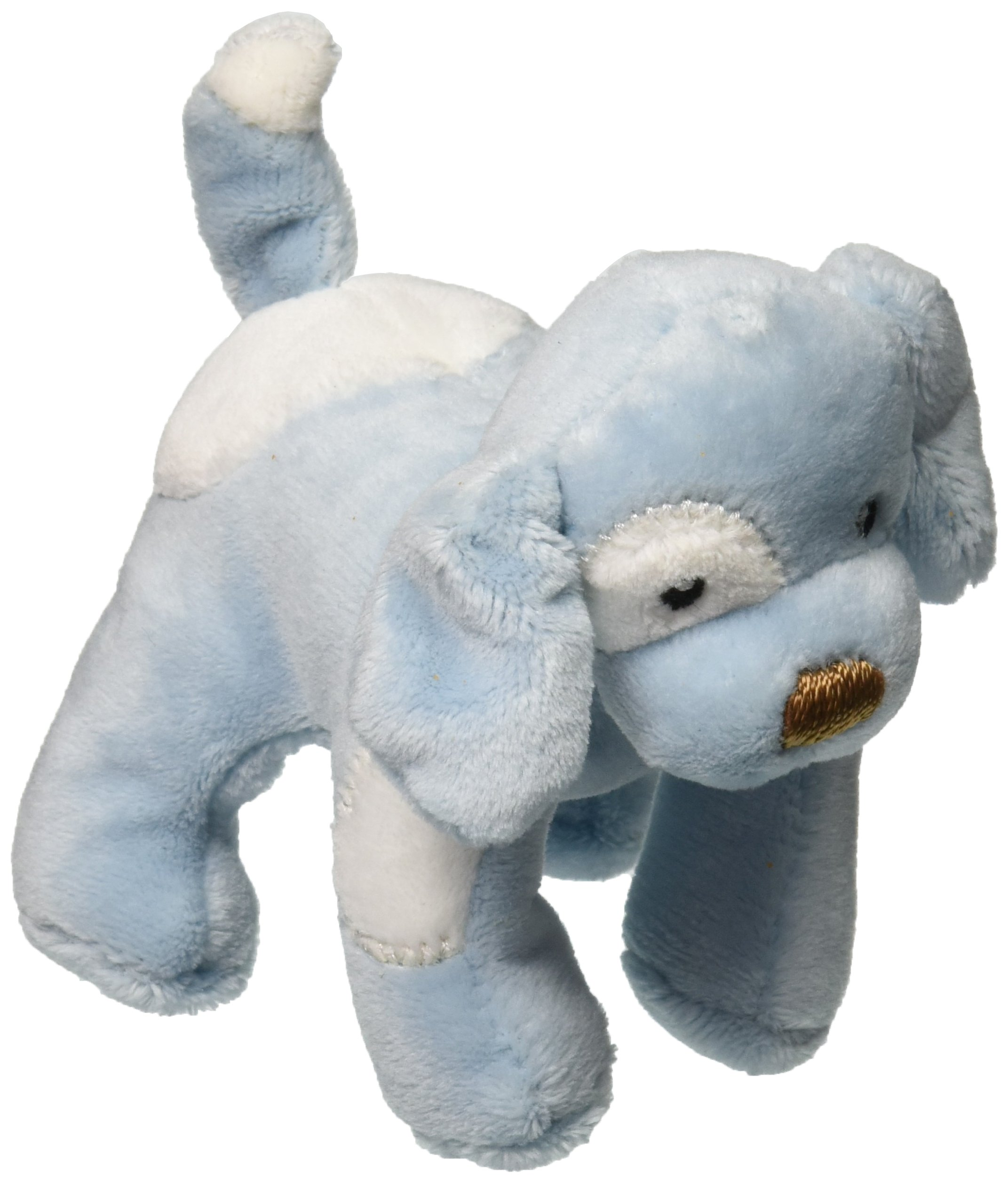 Spunky Puppy Baby Rattle - Blue