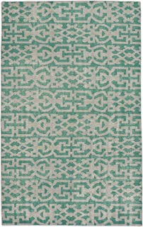 """product image for Capel Classic-Keeneland Grass 8' 0"""" x 10' 0"""" Rectangle Hand Knotted Rug"""