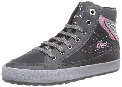 Geox JR Witty A, Baskets Hautes Filles