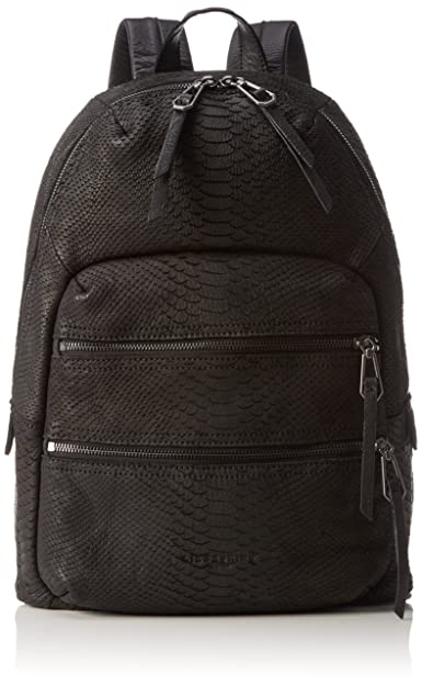 d5c277a2c115f Liebeskind Berlin Women Saku Python Backpack Handbags Black Size  29x41x15  cm