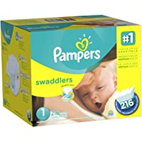 2-Pack Pampers Swaddlers Diapers Economy Plus Bundle + $20 Gift Card