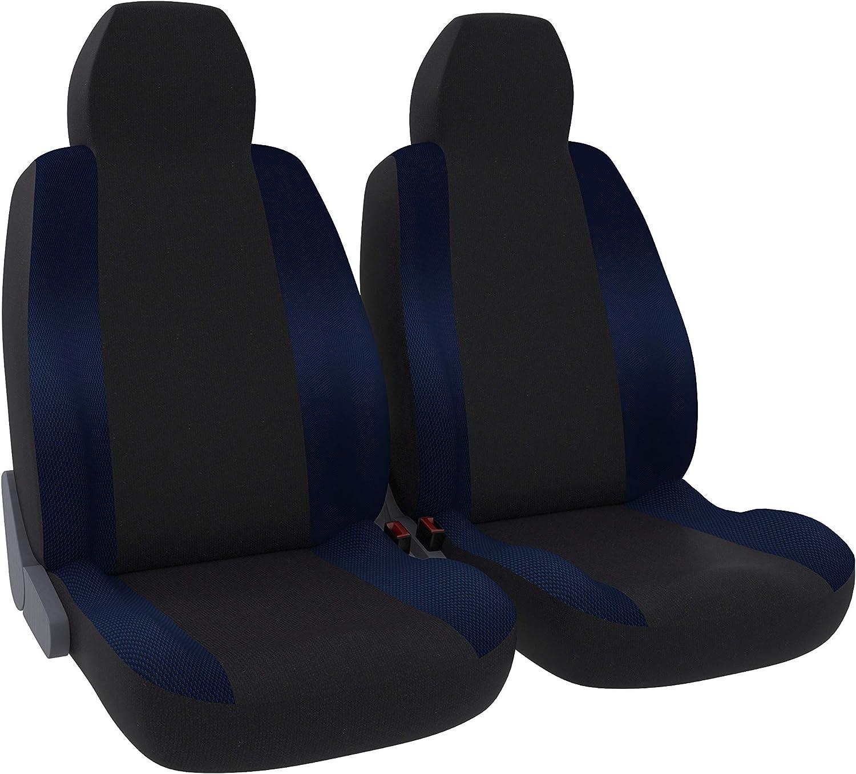 Universal DBS Autositzauflage rutschfest Kompatibel mit Airbag Schwarz Gro/ßer Komfort PKW//Auto