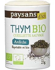 Paysan d'Ici Thym Ardèche Bio 25 g - Lot de 4