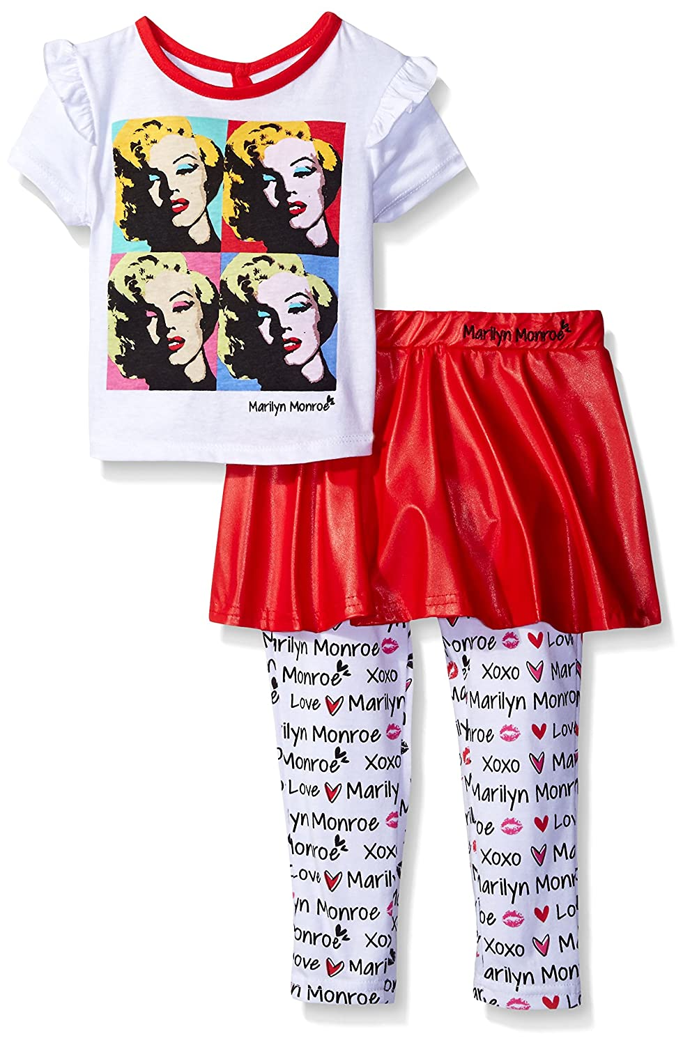 Marilyn Monroe Girls Warhol Print Skegging Set Toddler