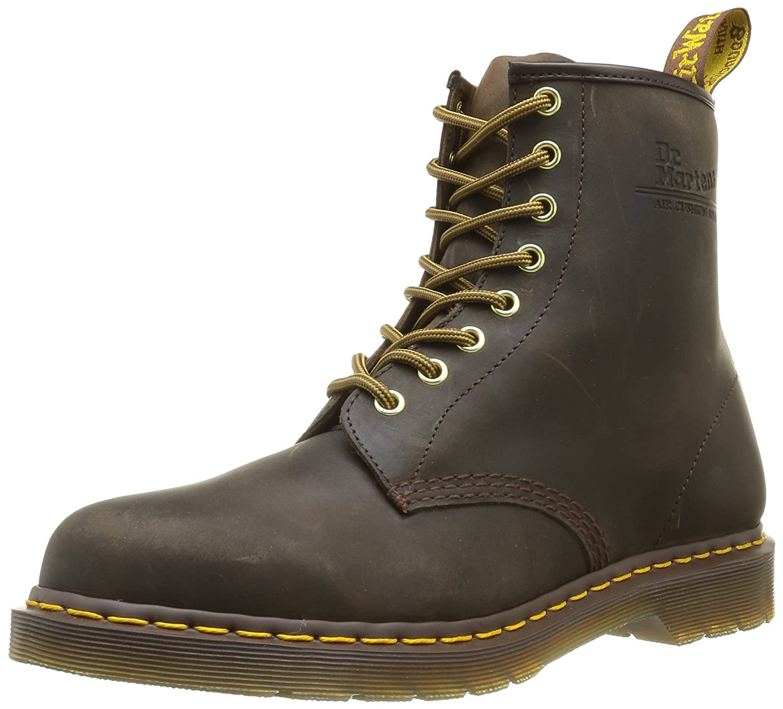 Dr. Martens Men's 1460 Combat Boot, 8.5 B(M) US Women/7.5 D(M) US Men B07CPM4TK9 11 M US Brown