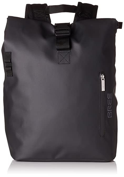 Bree - Punch 712, Black, Backpack S, Mochilas Unisex adulto, Schwarz (