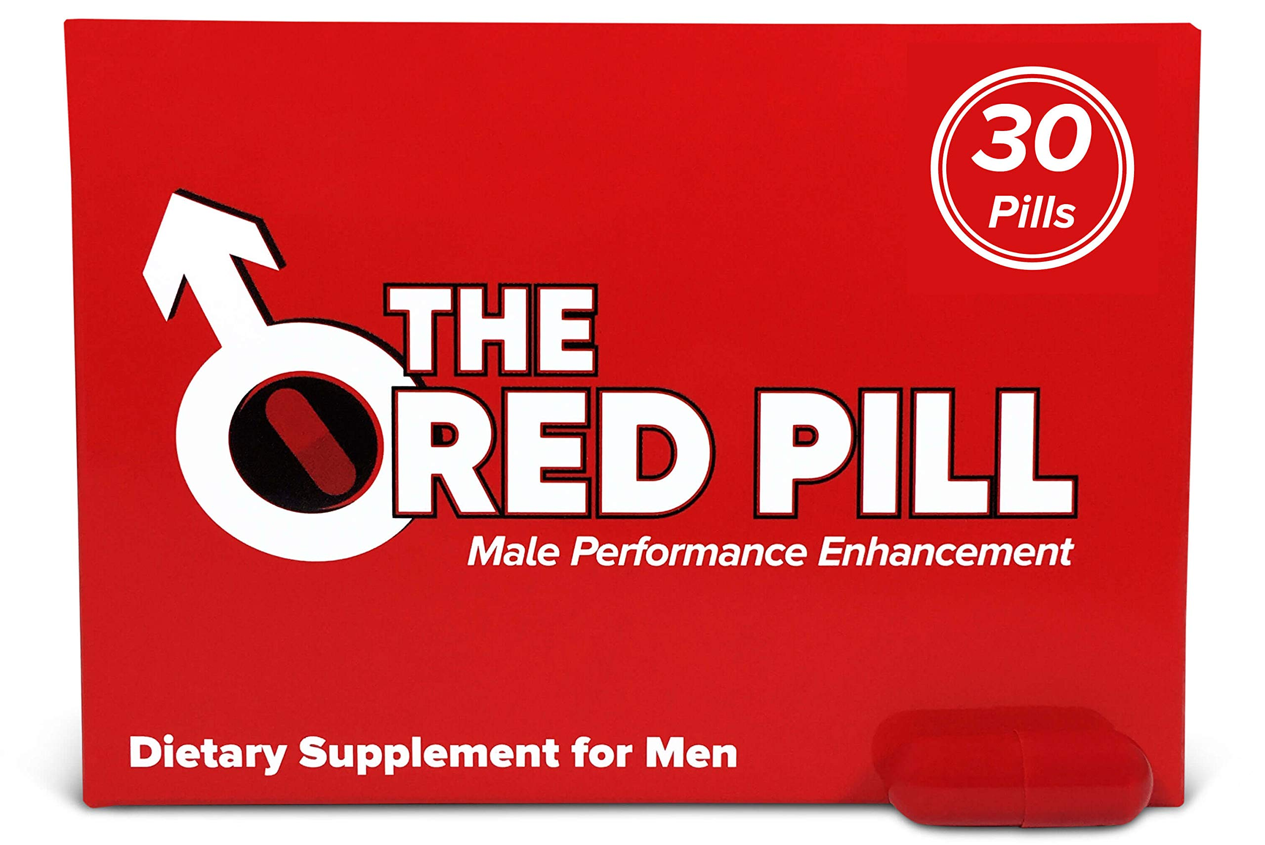 The Red Pill (30 Caps) Male Performance, Energy, Enhancement, and Endurance