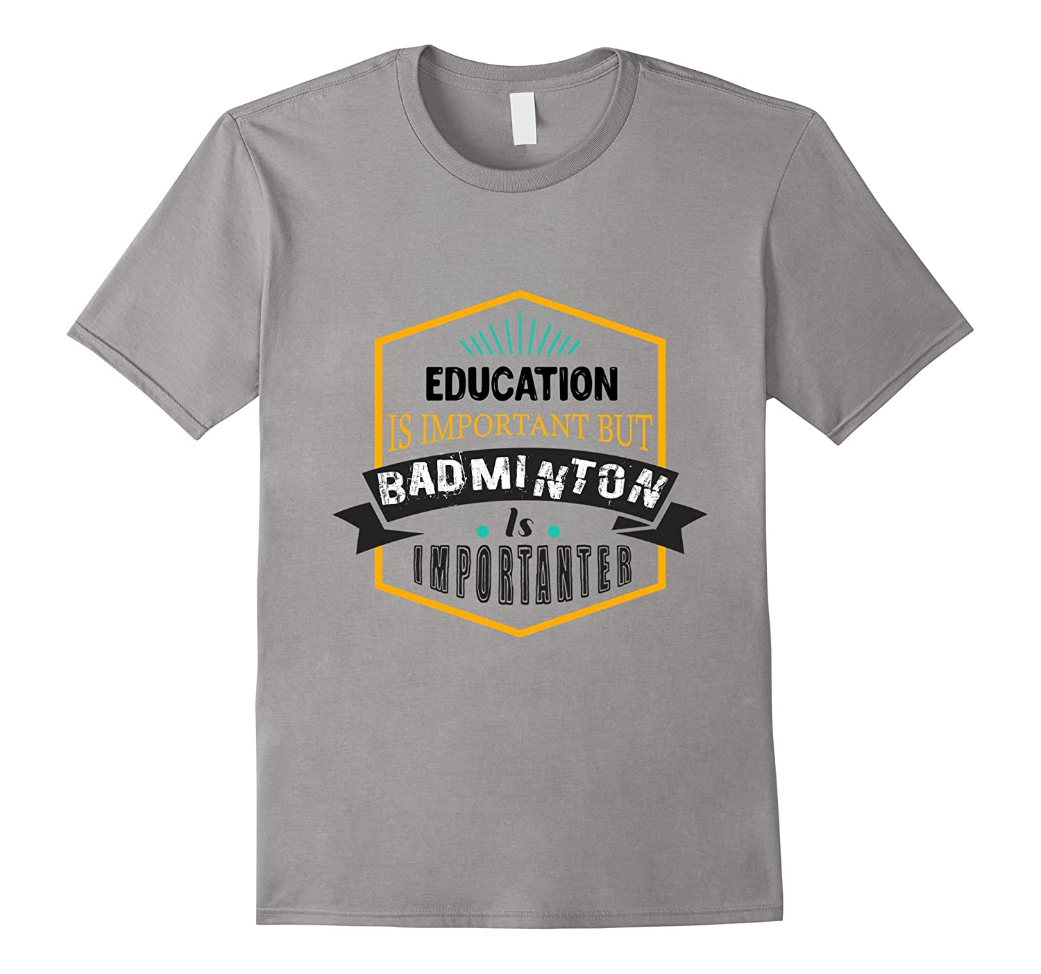 Badminton Funny T-shirt Gift for Men, Woman, Kid-FL