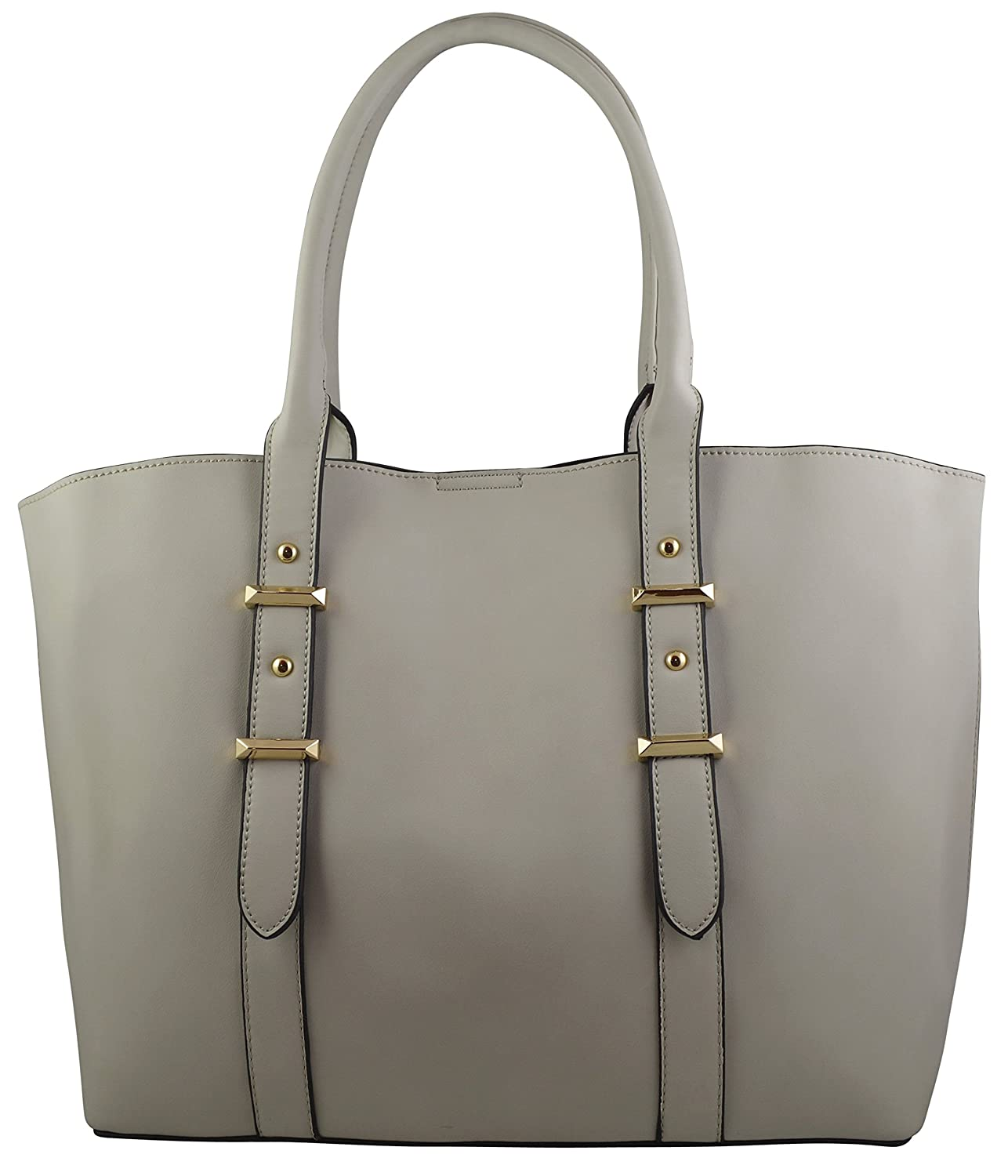 Lola Women's Elegant Simplicity Tote With Removable Purse