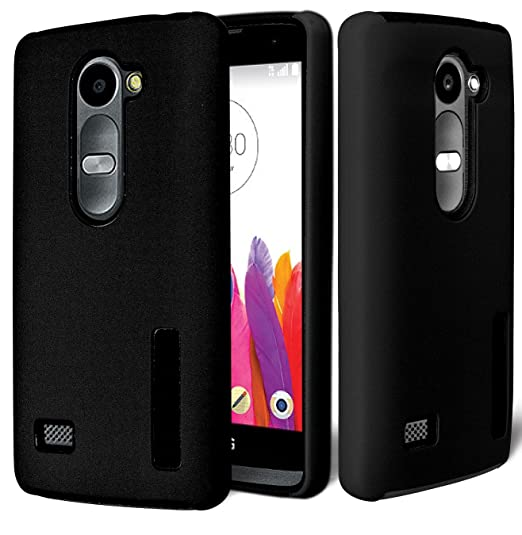 huge discount 13656 4b85f LG RISIO Case, Phonelicious LG RISIO (Cricket) Slim Dual Layer Durable  Hybrid Dynamic Shockproof Astronoot Phone Tuff Cover + Screen Protector &  ...