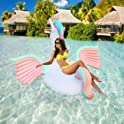 Geekper Unicorn Party Tube Inflatable Float