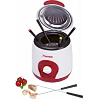 Bestron ADF900 Mini Friteuse 1 L 800 W Blanc / Rouge