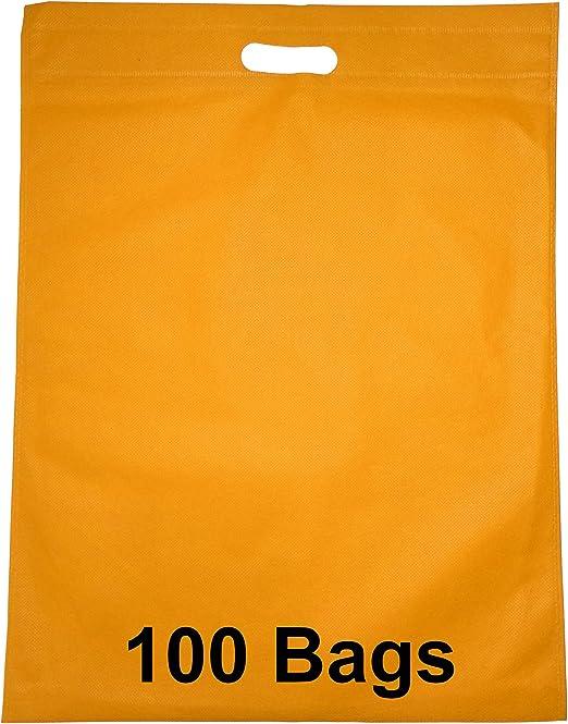 100 bolsas 41 cm x 53 cm tela no tejida biodegradables bolsas de ...