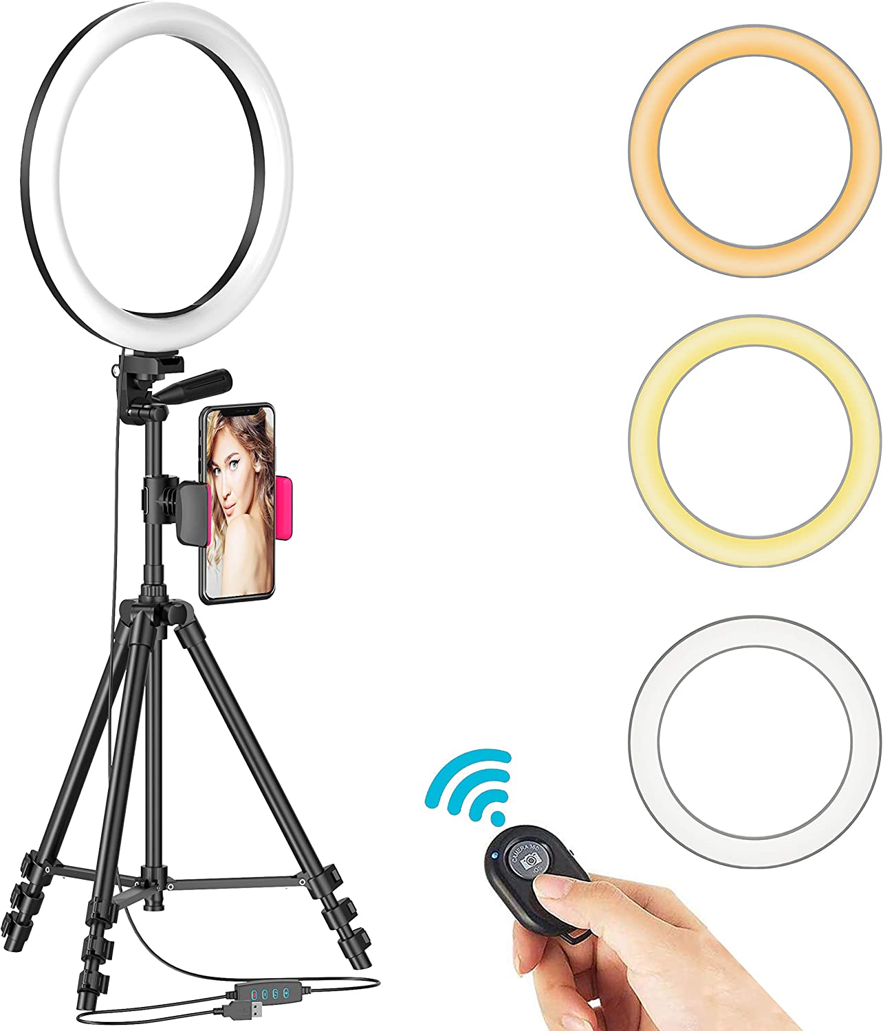 Best Ring Light with Tripod Stand
