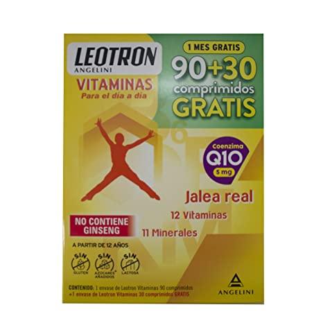 LEOTRON Vitaminas 90 + 30