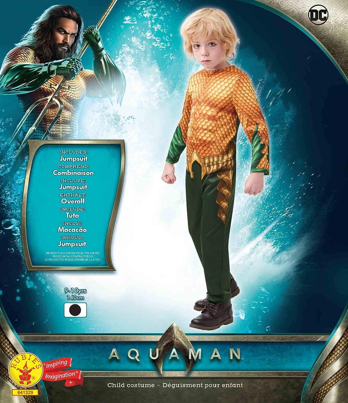 DC Comics - Disfraz de Aquaman para niños, infantil 9-10 años ...