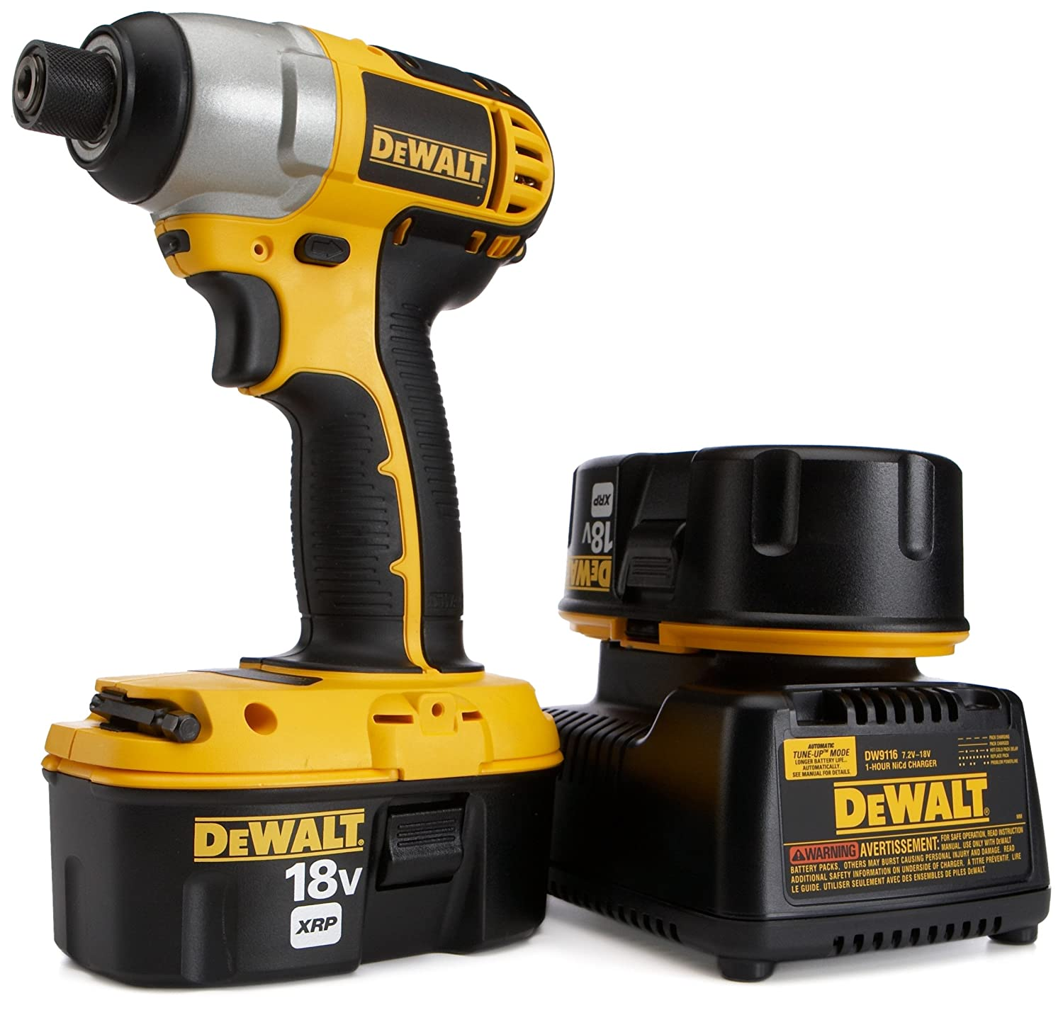 Dewalt 18-volt 1/4 in. (6. 4 mm) cordless impact driver (tool-only.