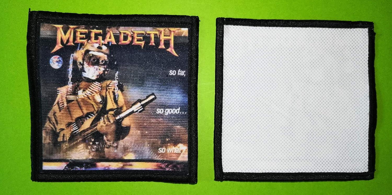 BLUE HAWAI PL0107 ECUSSON Patches AUFNAHER Toppa - A Coudre 10 * 10 CM Megadeth 2