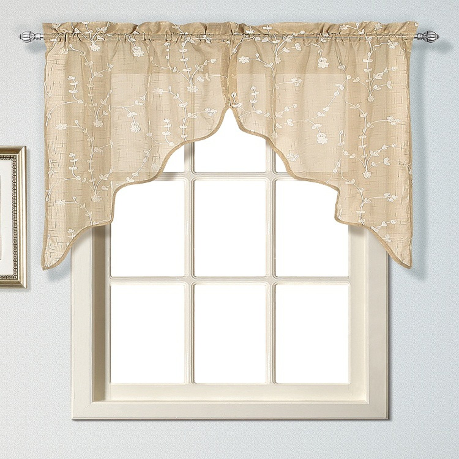 Amazon.com: United Curtain Savannah Swags, 51 By 38 Inch, Taupe, Set Of 2:  Home U0026 Kitchen